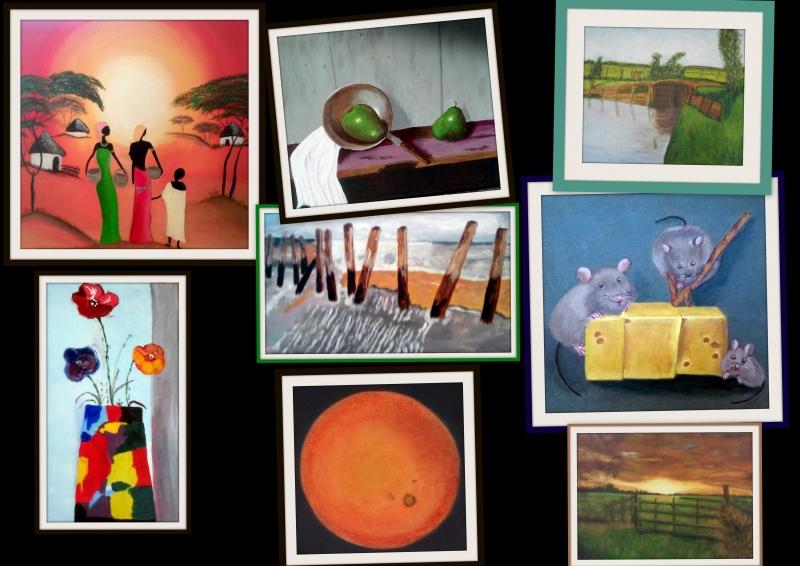 Collage Schilderen