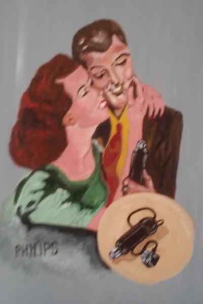 Schilderij Eliane